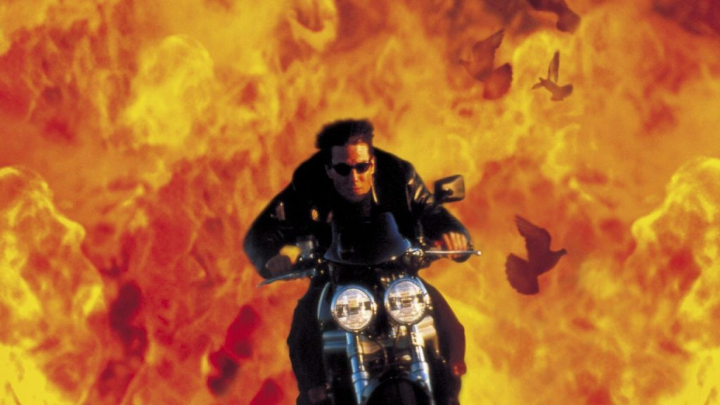 Mission: Impossible 2 motorcycle chase