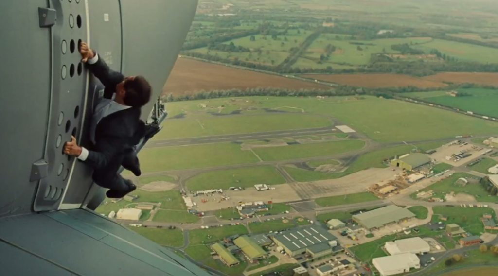 Mission Impossible Rogue Nation plane take off